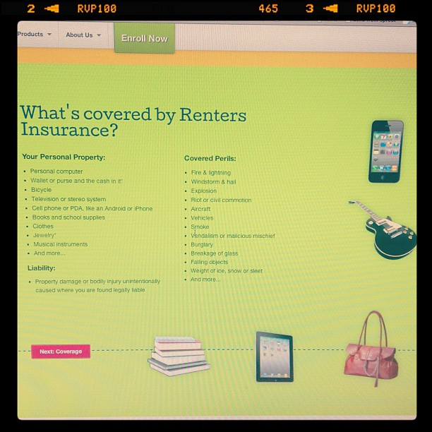 College Renters Insurance