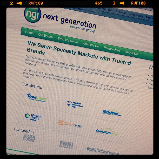 New Next Generation Insurance Website